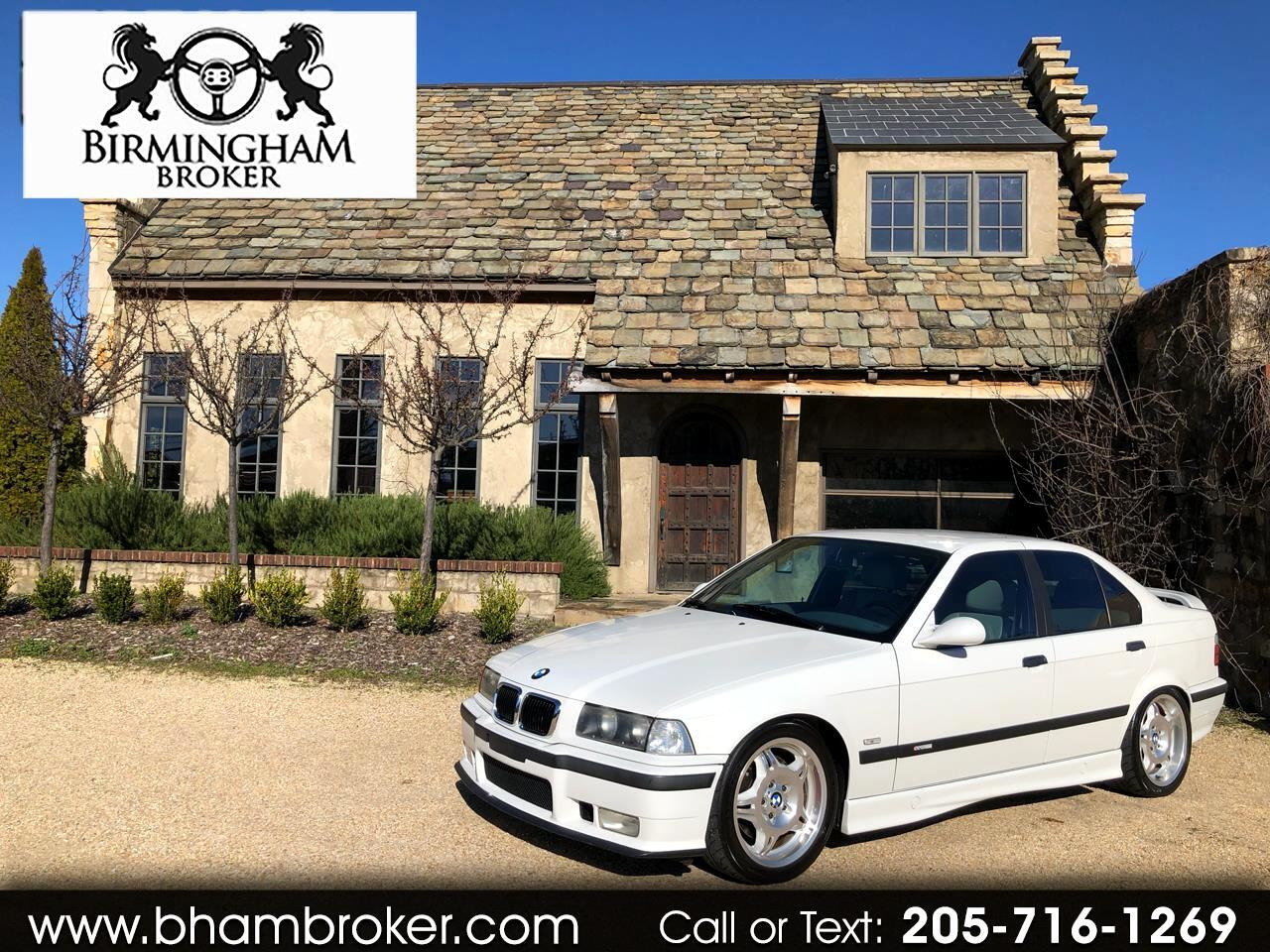 1998 BMW 3 Series M3S 4dr Sdn Manual
