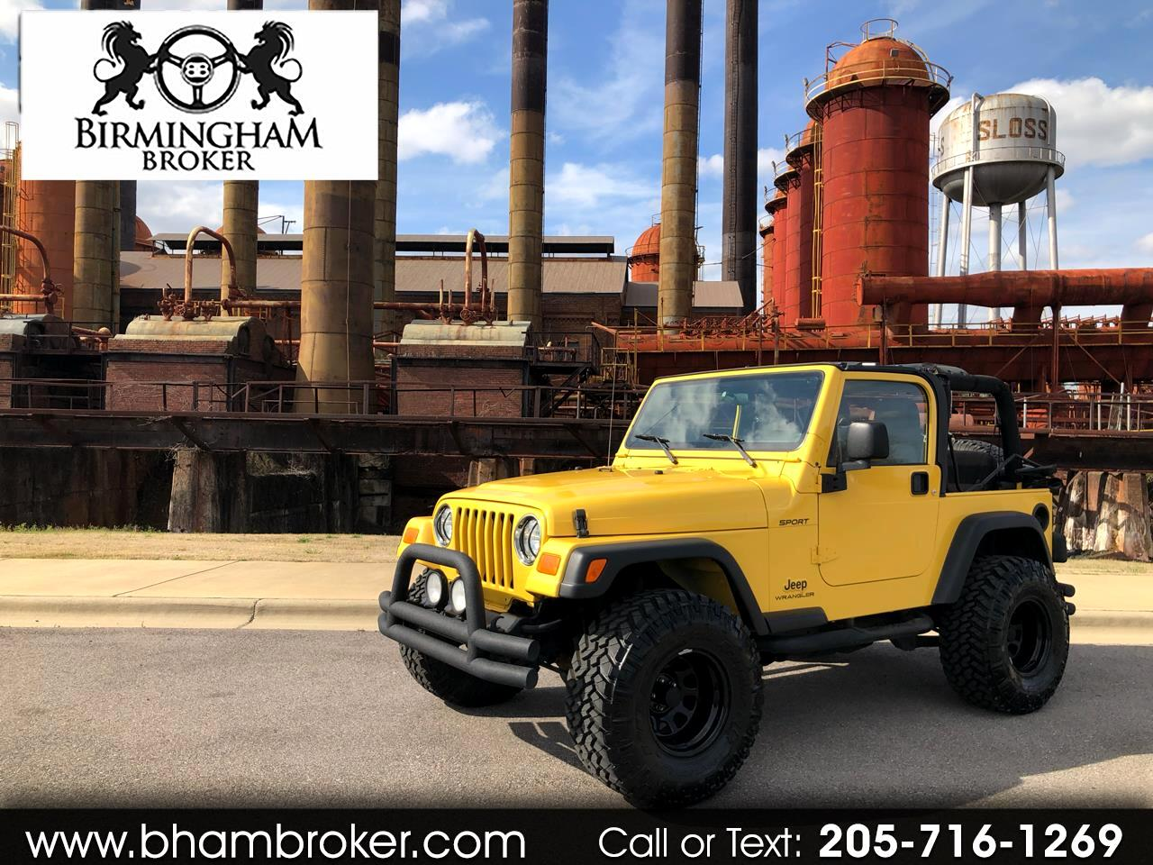 2004 Jeep Wrangler 2dr Sport