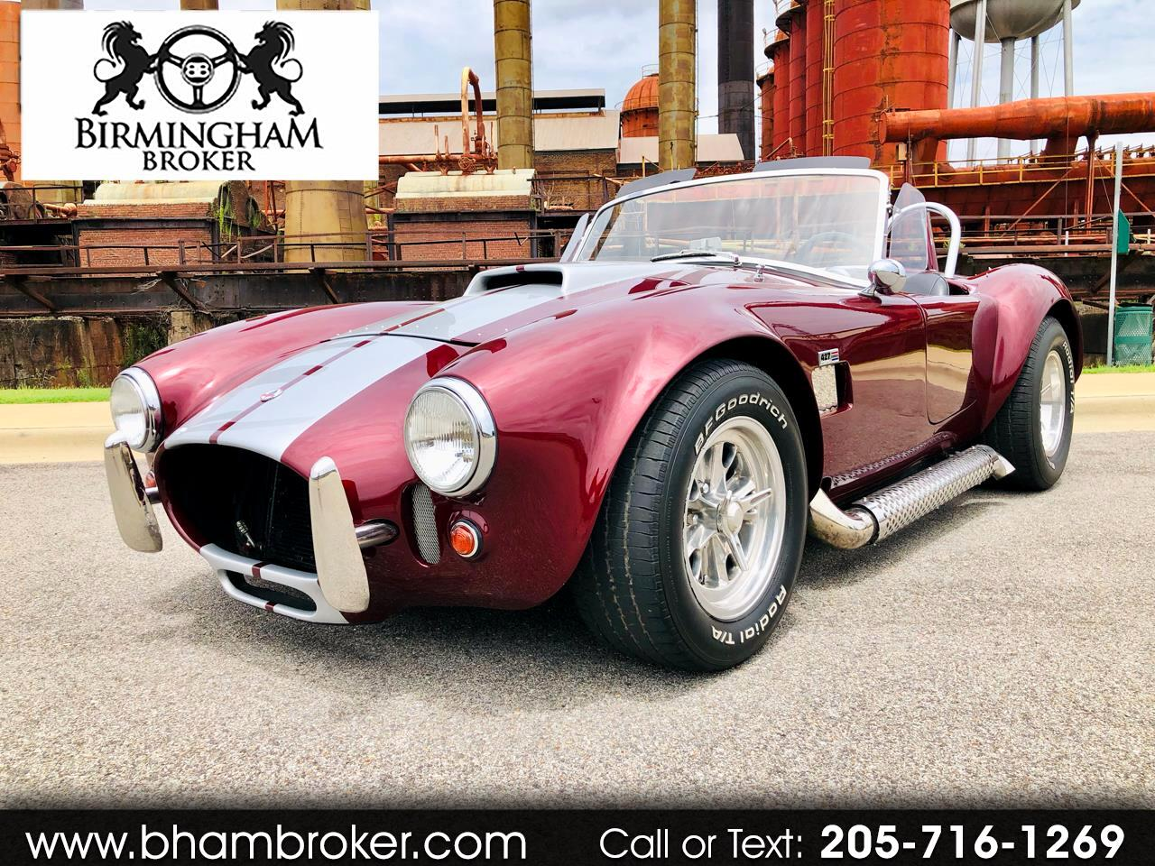 2005 Cobra Replica Backdraft Roadster Base