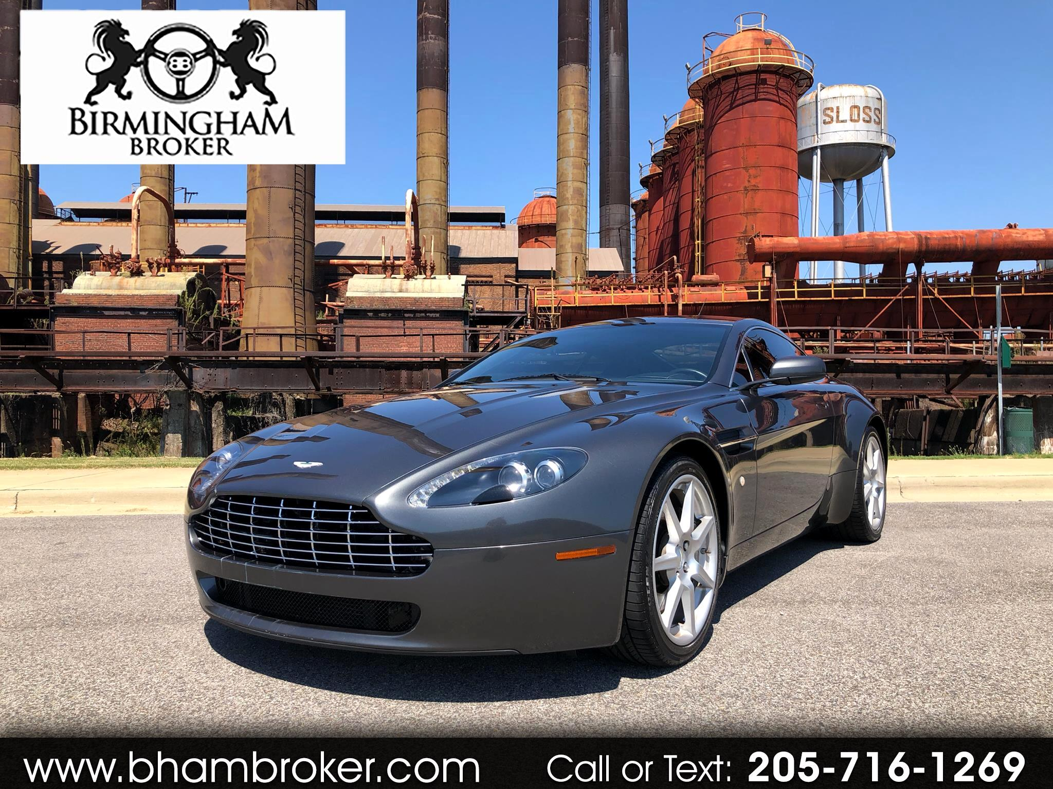 2007 Aston Martin Vantage 2dr Cpe Manual