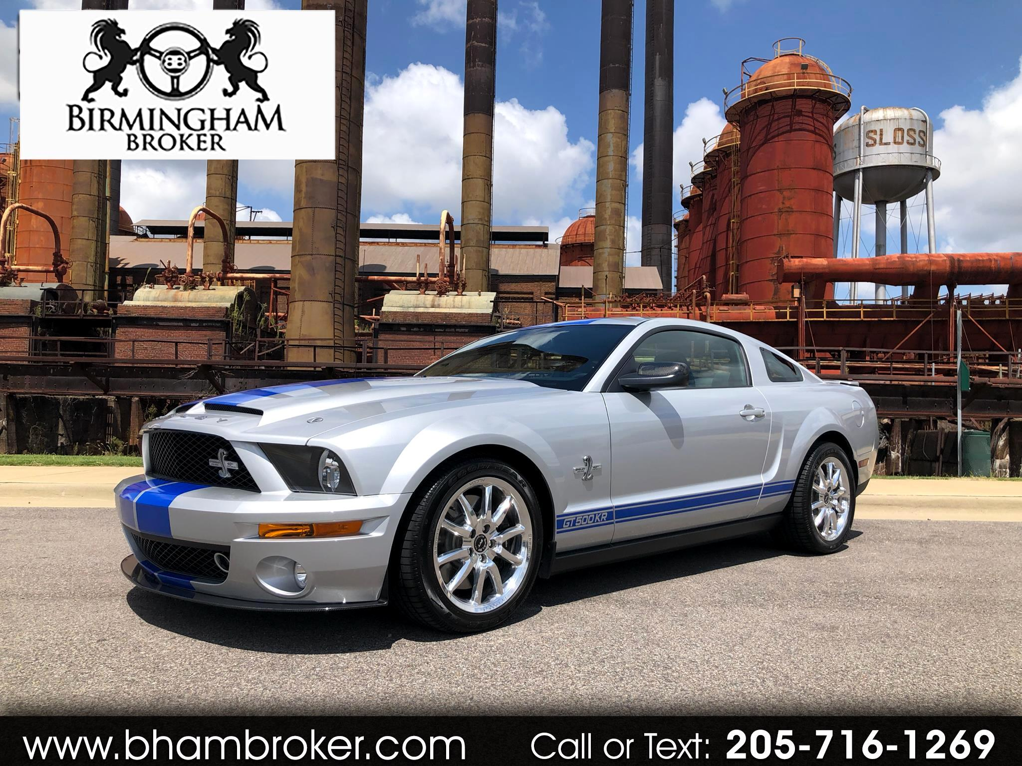 2008 Ford Mustang 2DR CPE SHELBY GT500KR
