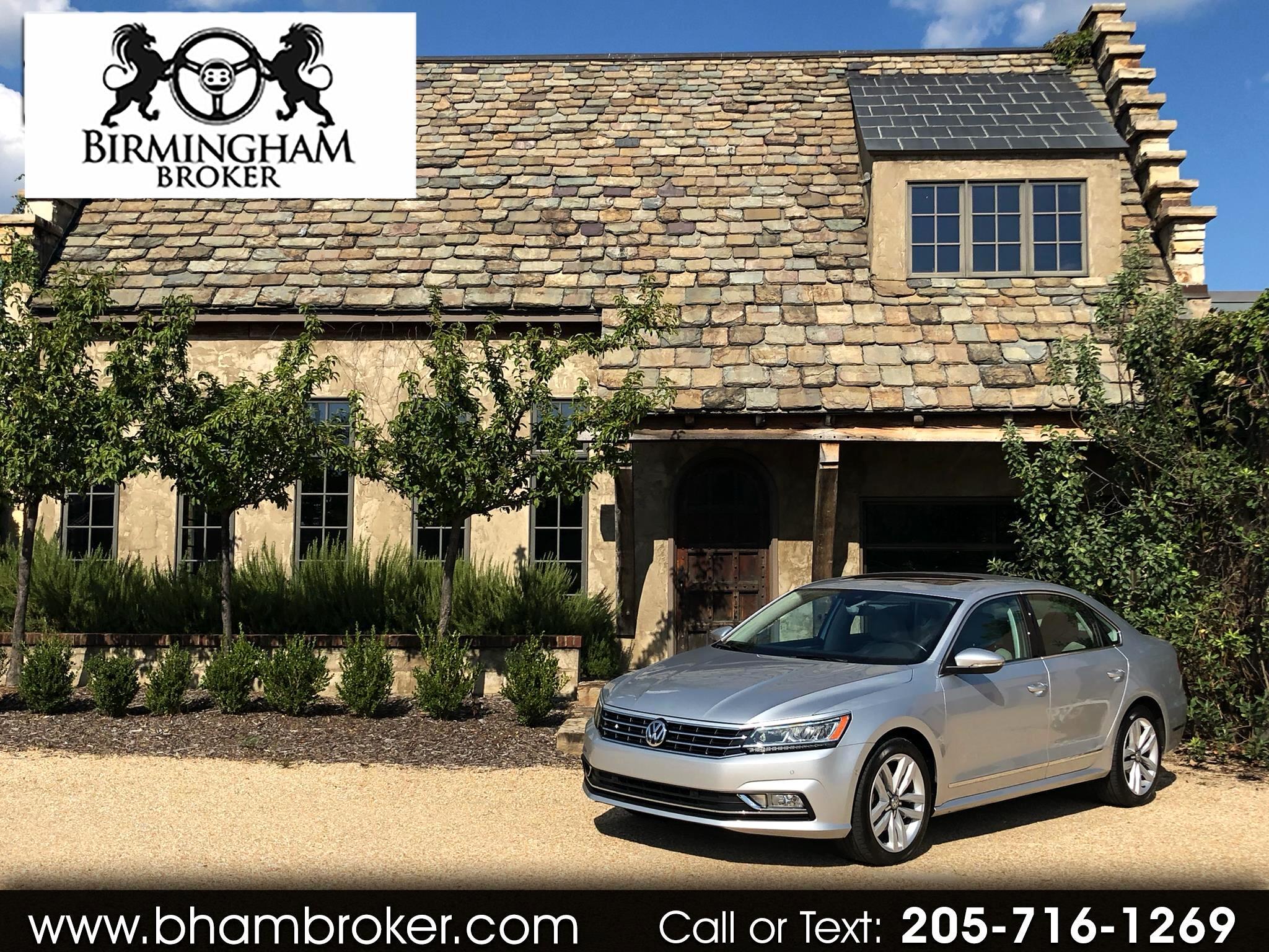 2017 Volkswagen Passat 1.8T SEL Premium Auto