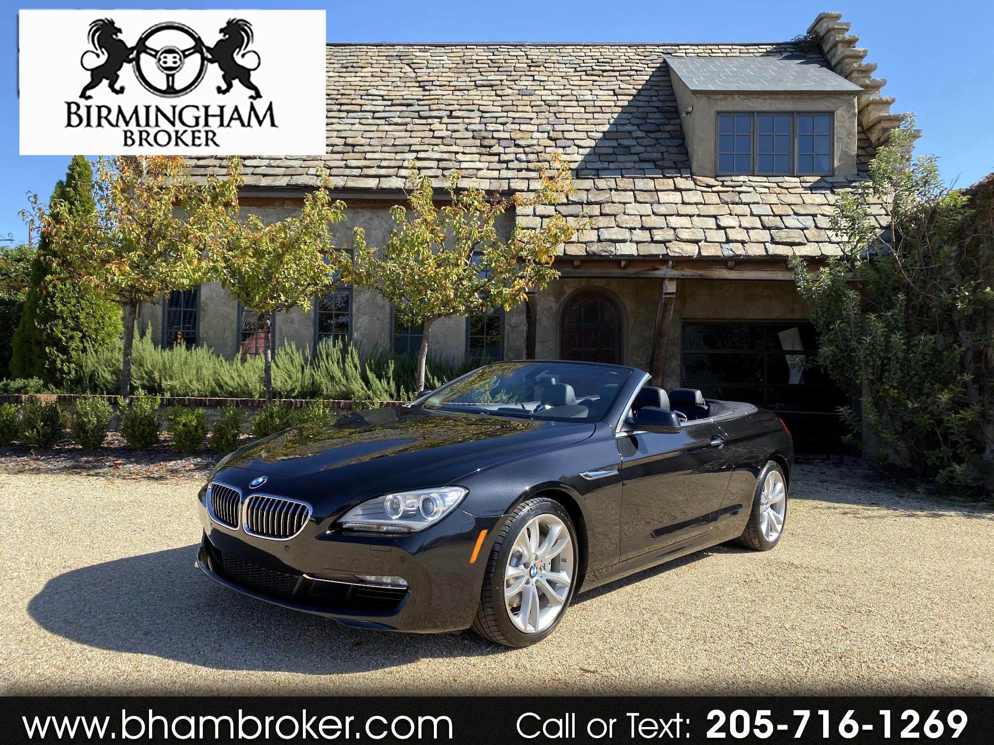 BMW 6 Series 2dr Conv 640i 2013