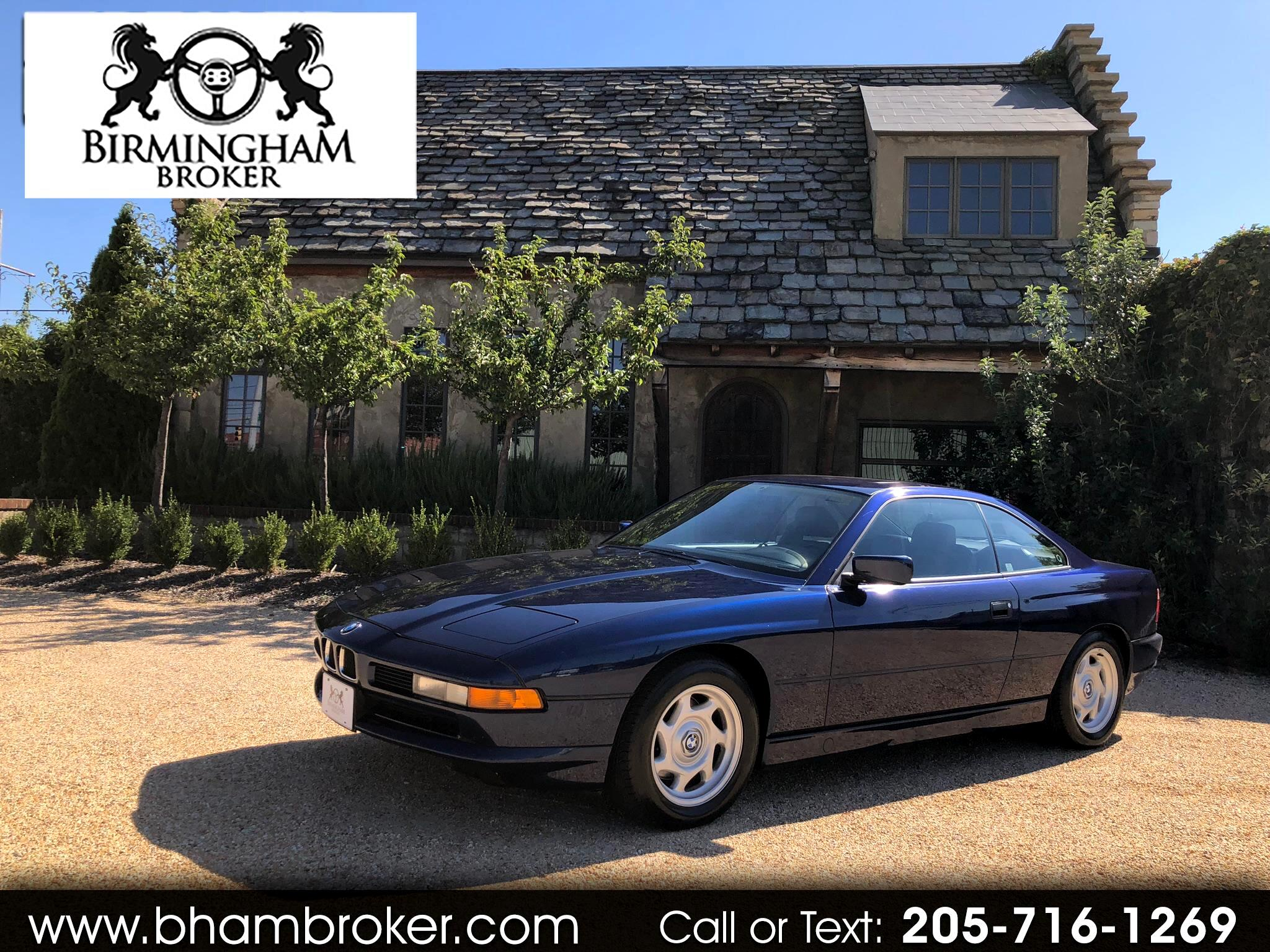 1991 BMW 8 Series 2dr Coupe 850i