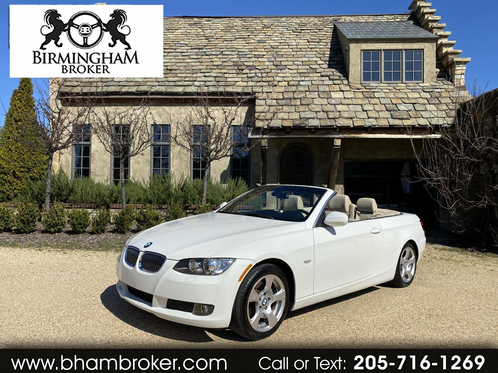 BMW 3 Series 2dr Conv 328i 2010