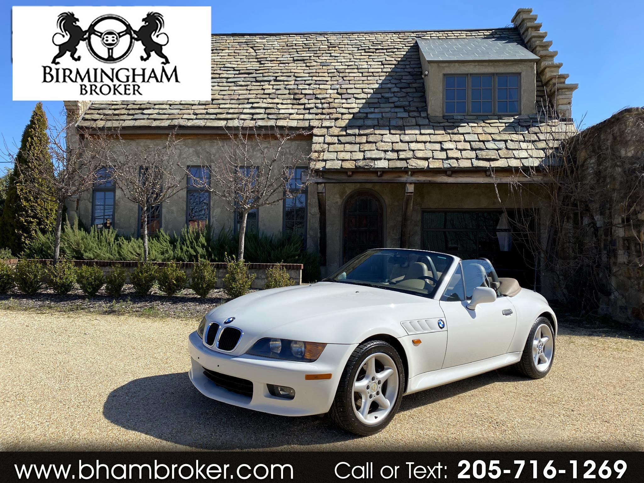 BMW 3 Series Z3 2dr Roadster 2.8L 1998