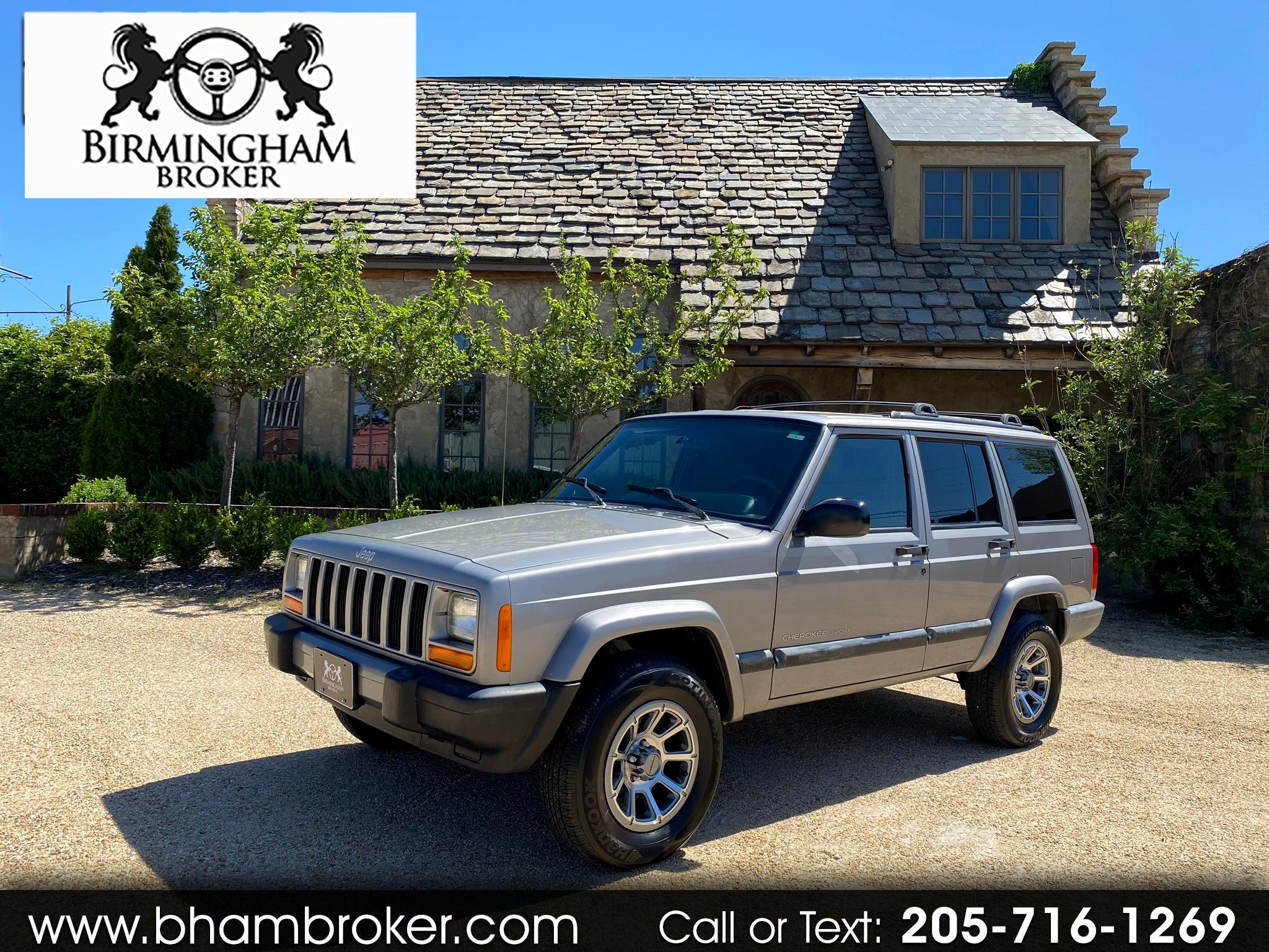 Jeep Cherokee 4dr Sport 2001