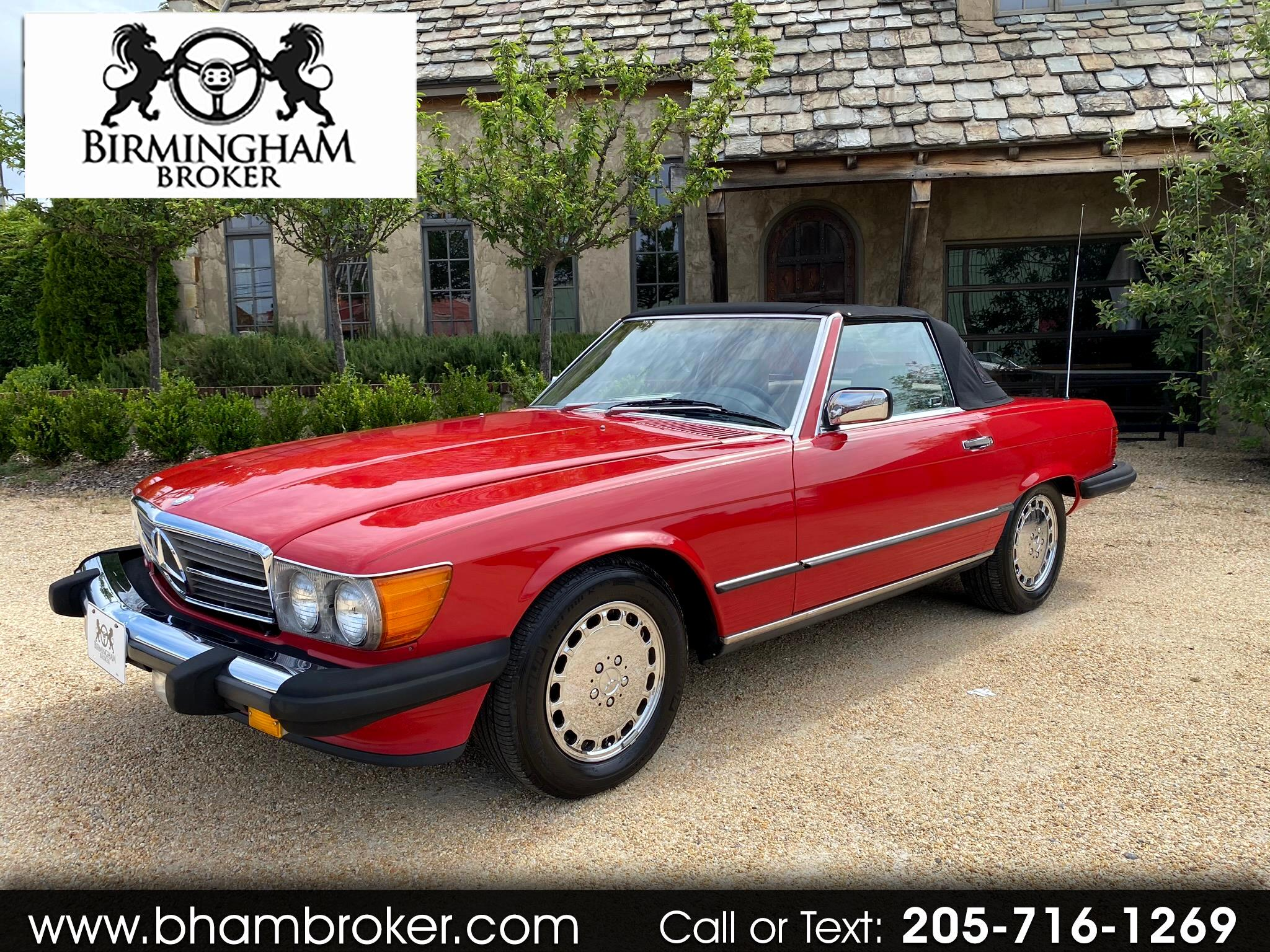 Mercedes-Benz 560 Series 2dr Roadster 560SL 1988