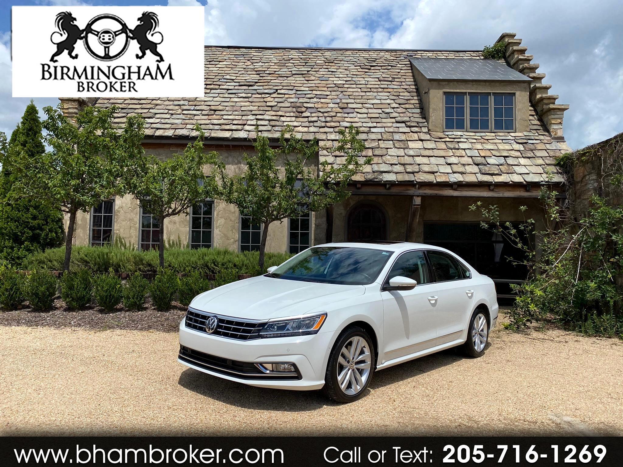 Volkswagen Passat 2.0T SEL Premium Auto 2018
