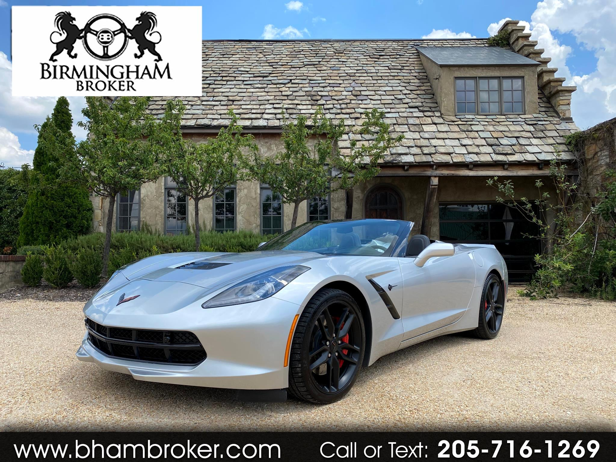 Chevrolet Corvette 2dr Stingray Z51 Conv w/3LT 2016