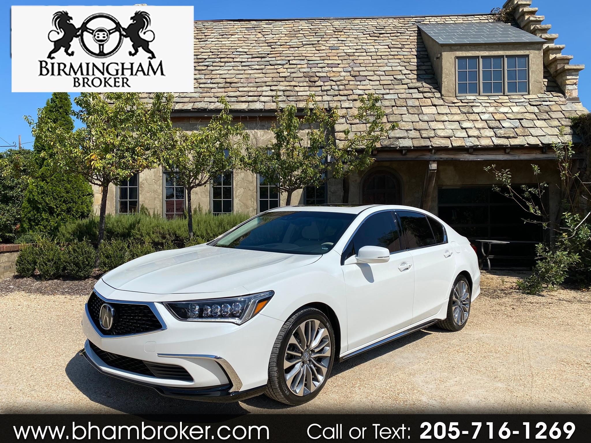 Acura RLX Sedan w/Technology Pkg 2020