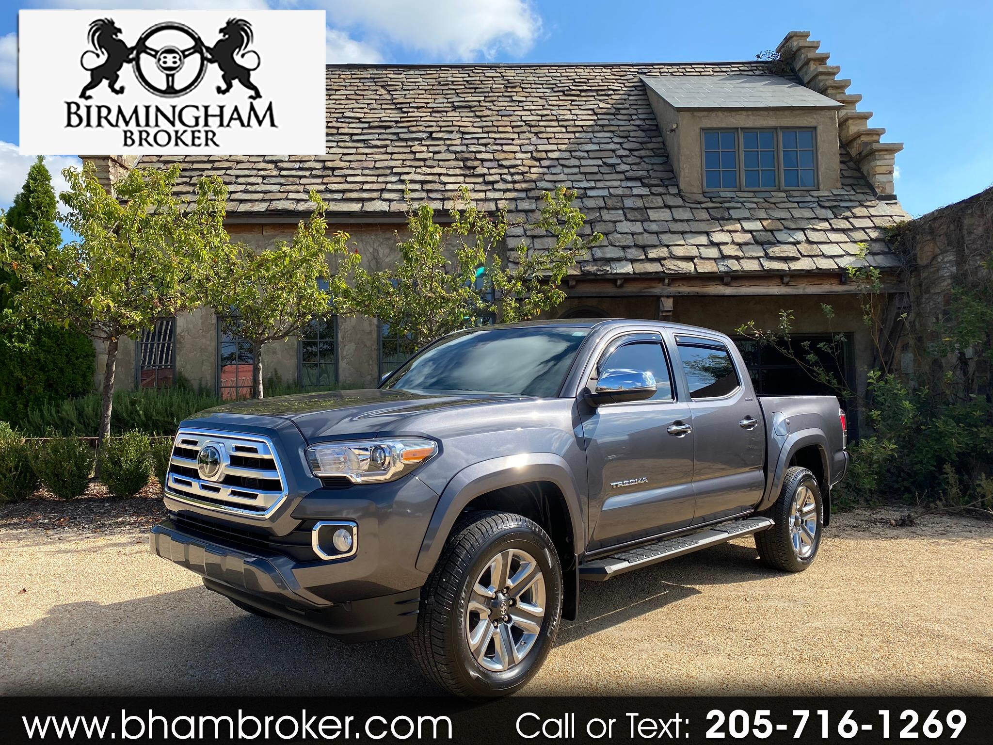 Toyota Tacoma Limited Double Cab 5' Bed V6 4x4 AT (Natl) 2018