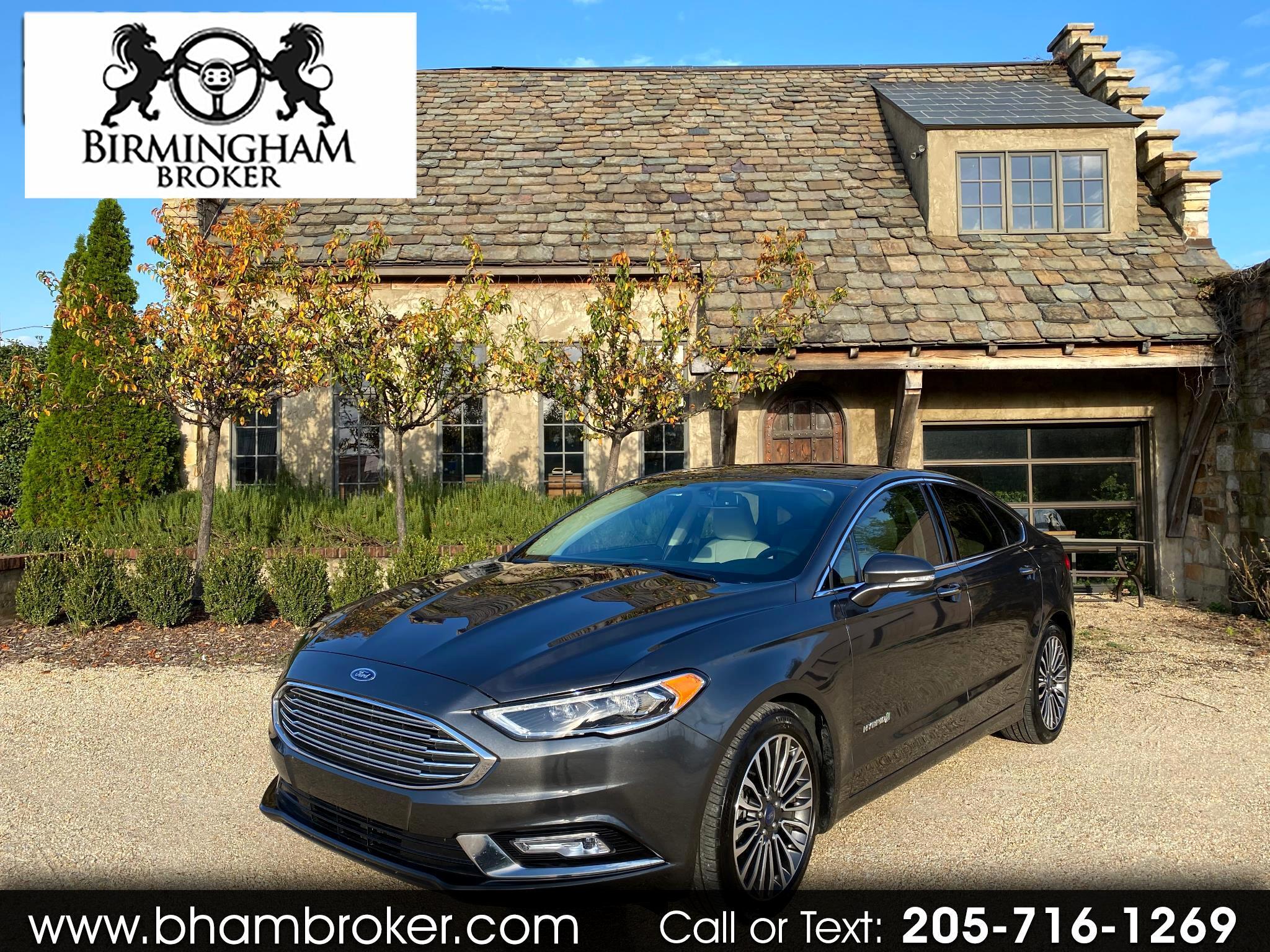 Ford Fusion Hybrid Titanium FWD 2018