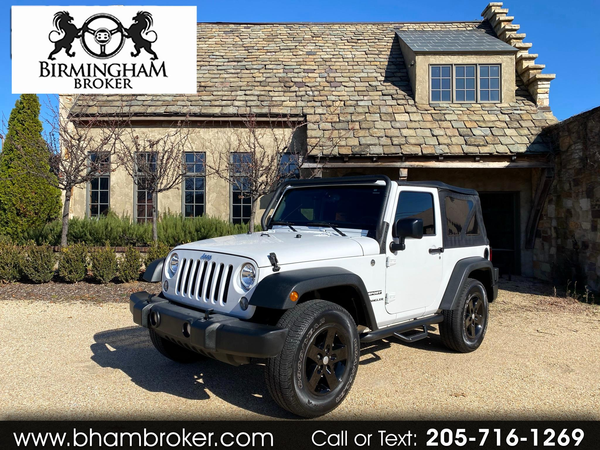 Jeep Wrangler 4WD 2dr Sport 2016