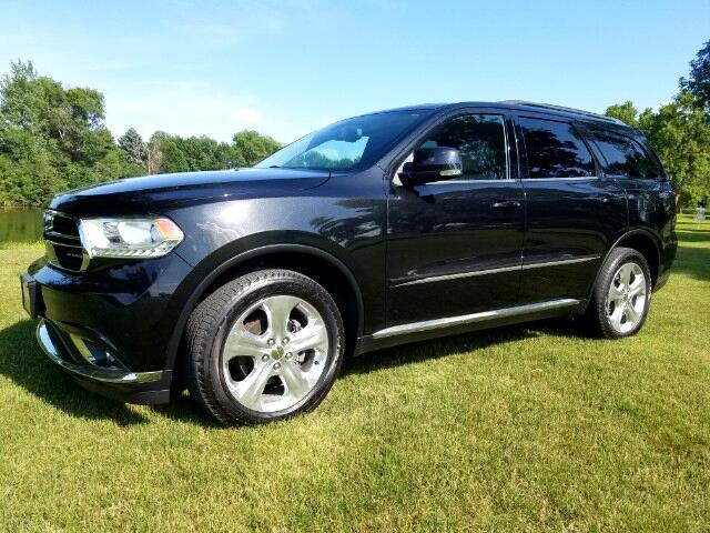 2014 Dodge Durango Limited AWD, Heated Quads, Dual DVD, Navigation, S