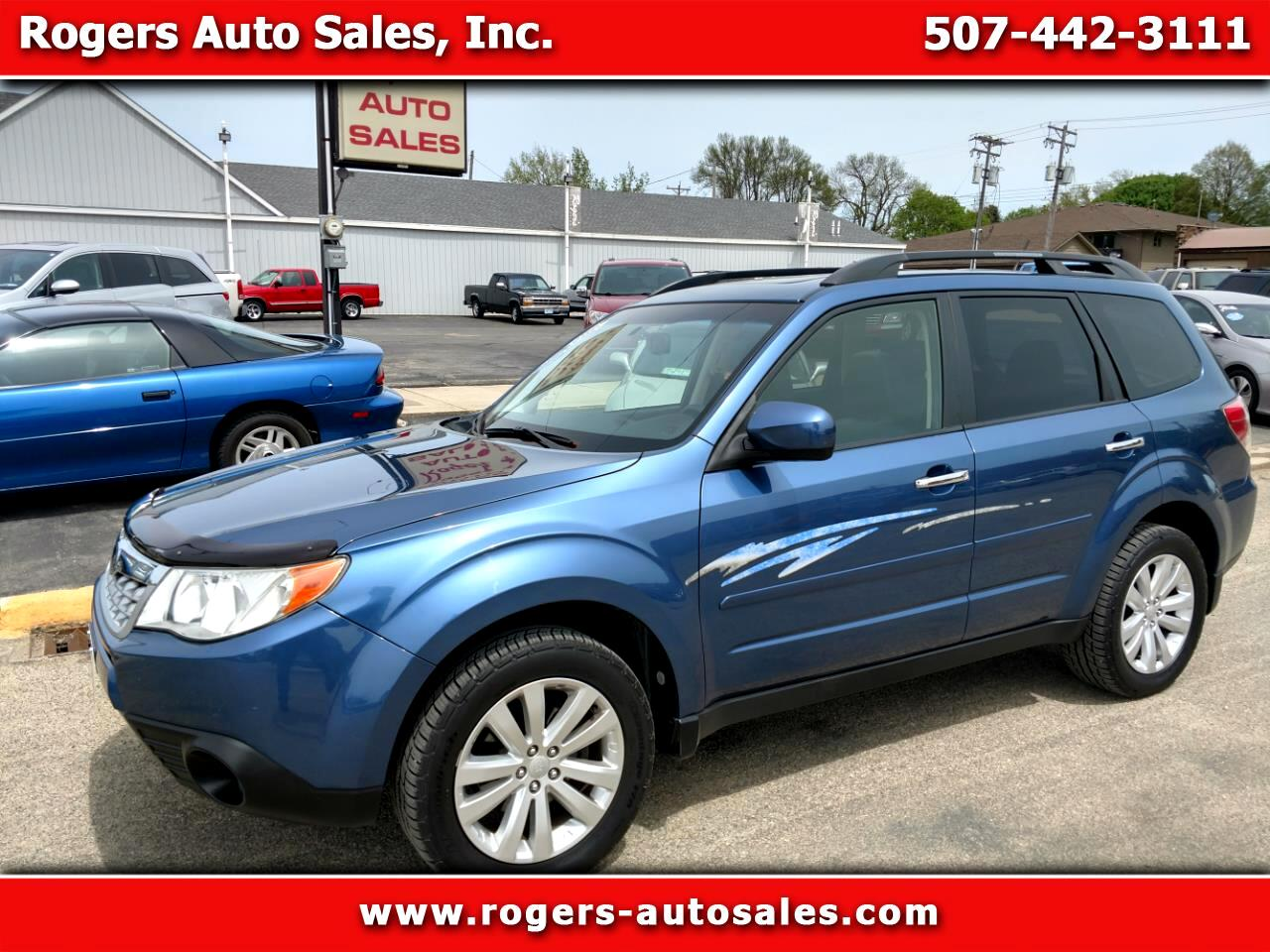 2012 Subaru Forester 2.5X Limited AWD