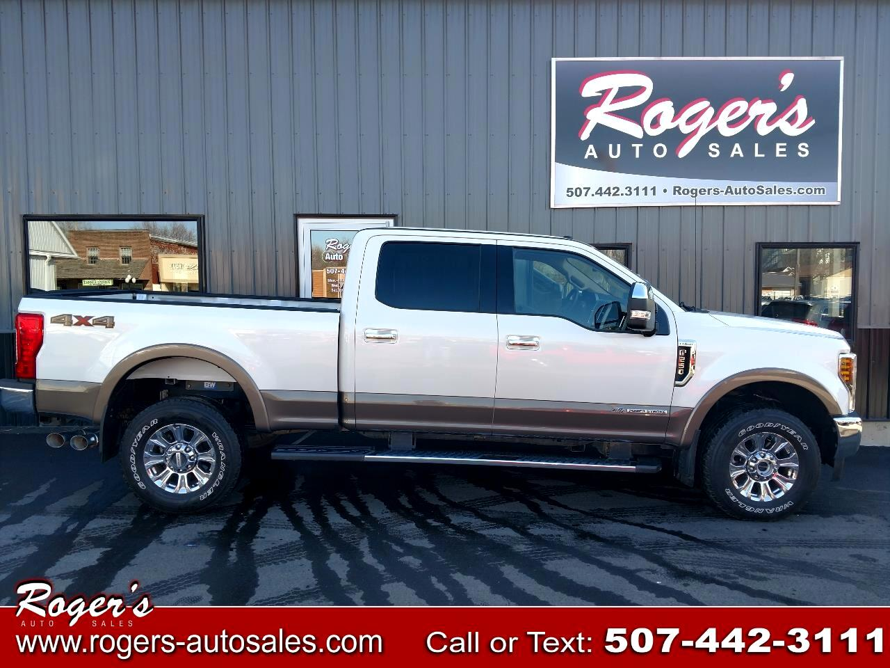 Ford F-250 SD Lariat Crew Cab Short Bed 4WD 2018