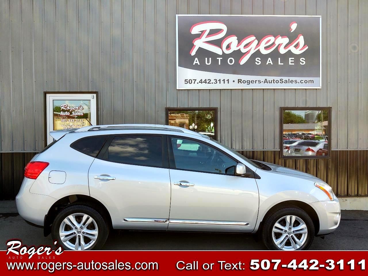 Nissan Rogue AWD 4dr SV 2012
