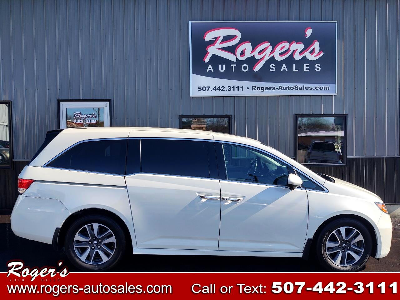 Honda Odyssey 5dr Touring AT with RES & NAVI 2016
