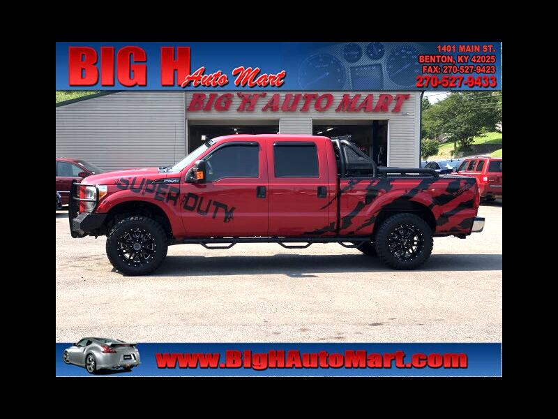Ford F-250 SD XLT Crew Cab Long Bed 4WD 2015