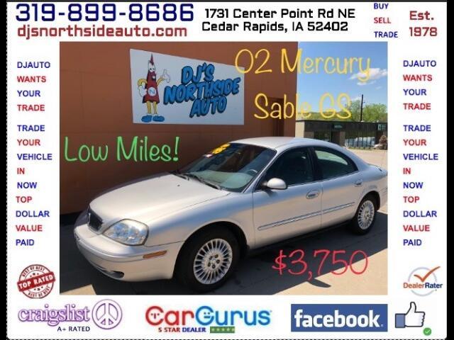 2002 Mercury Sable GS Plus