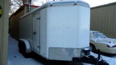 2009 Wells Cargo Trailer