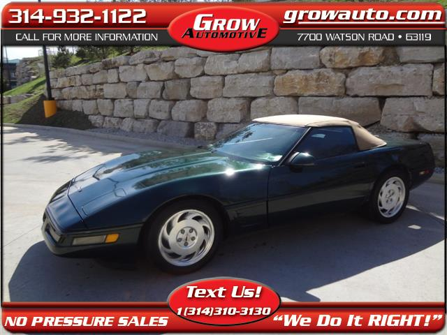 1995 Chevrolet Corvette 2dr Convertible
