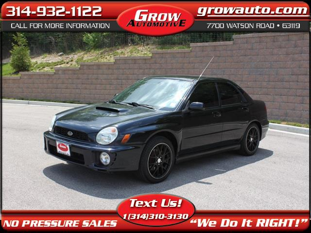 2002 Subaru Impreza Sedan 4dr Sdn WRX Manual