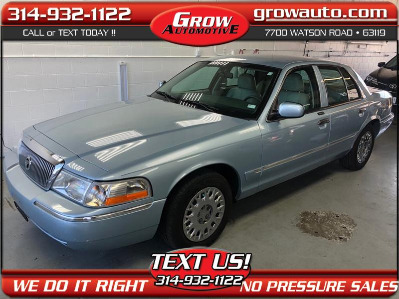 2004 Mercury Grand Marquis 4dr Sdn GS