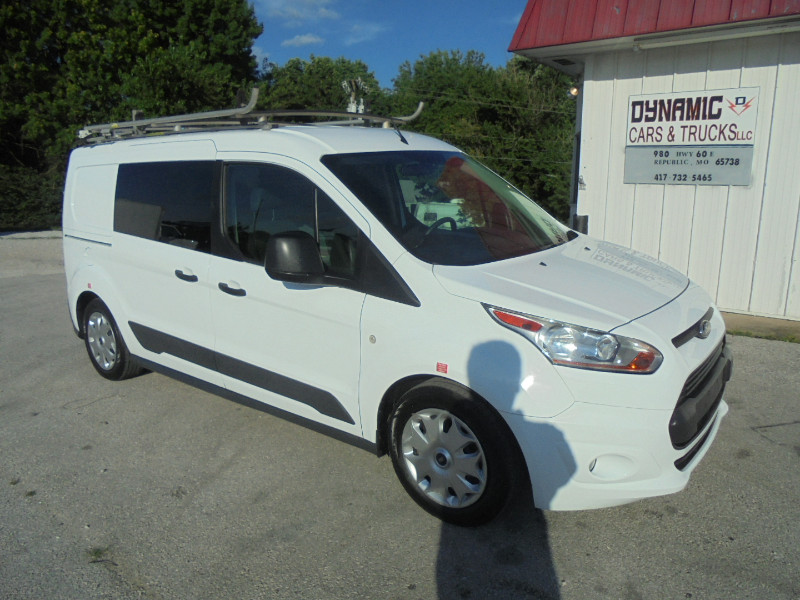2016 Ford Transit Connect Cargo Van XLT LWB w/Rear Cargo Doors