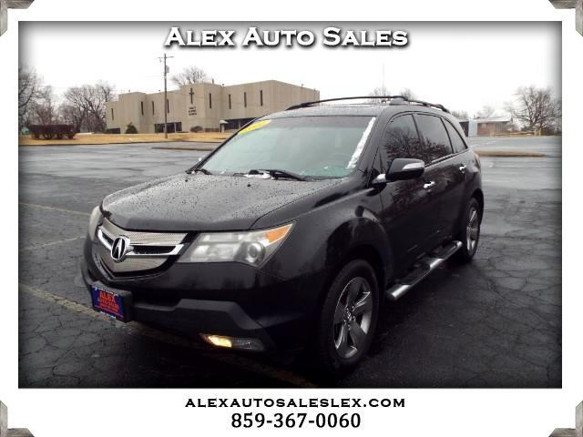 2007 Acura MDX Sport Package with Rear DVD System