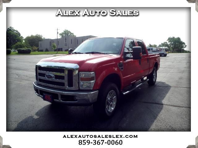 2008 Ford F-250 SD XLT Crew Cab Long Bed 4WD