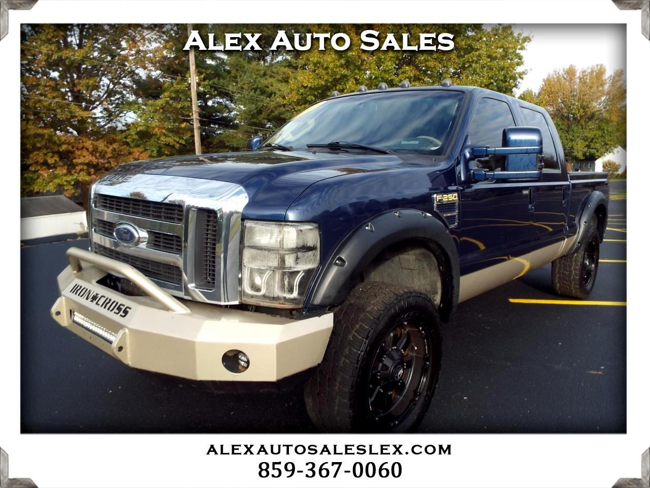 Ford F-250 SD King Ranch Crew Cab 4WD 2008