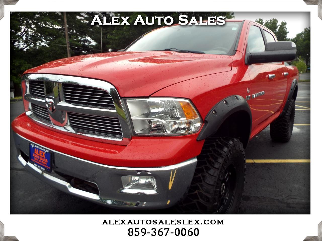 Dodge Ram 1500 Quad Cab Short Bed 4WD 2011