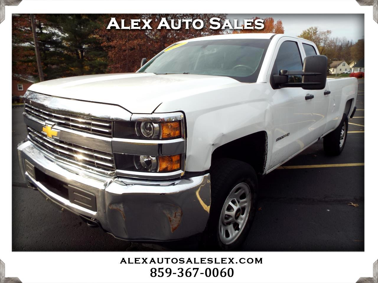 Chevrolet Silverado 2500HD Work Truck Double Cab 2WD 2016