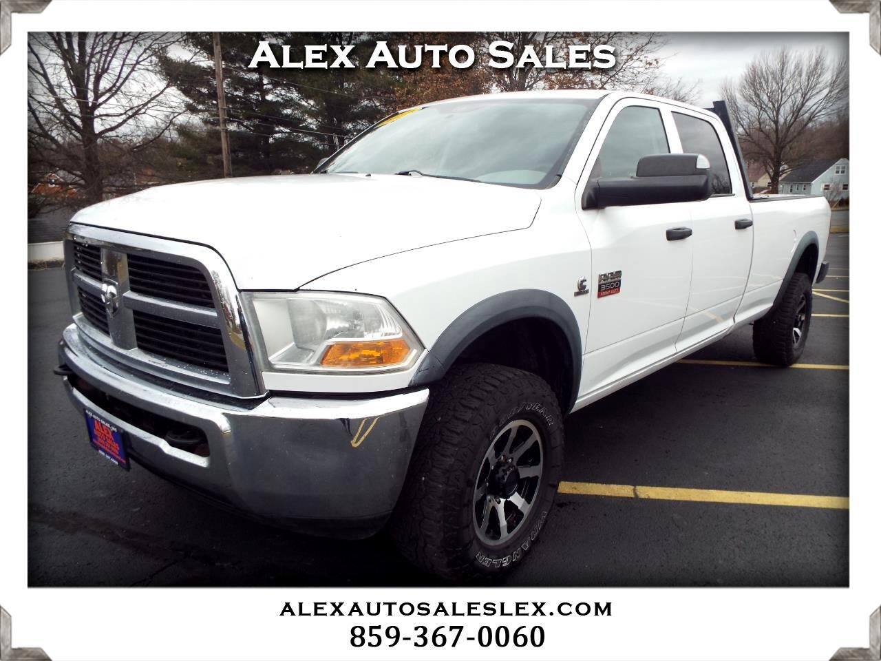 Dodge Ram Pickup 3500 SLT Quad Cab Long Bed 4WD 2012