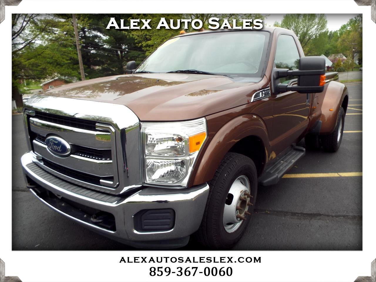 Ford F-350 SD XLT DRW 2WD 2012