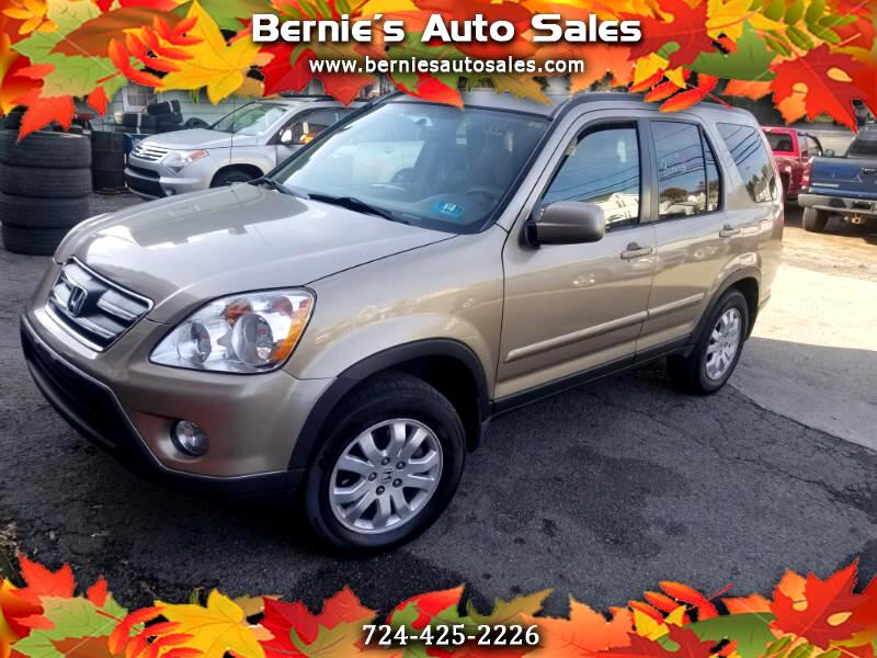 2006 Honda CR-V SE 4WD AT