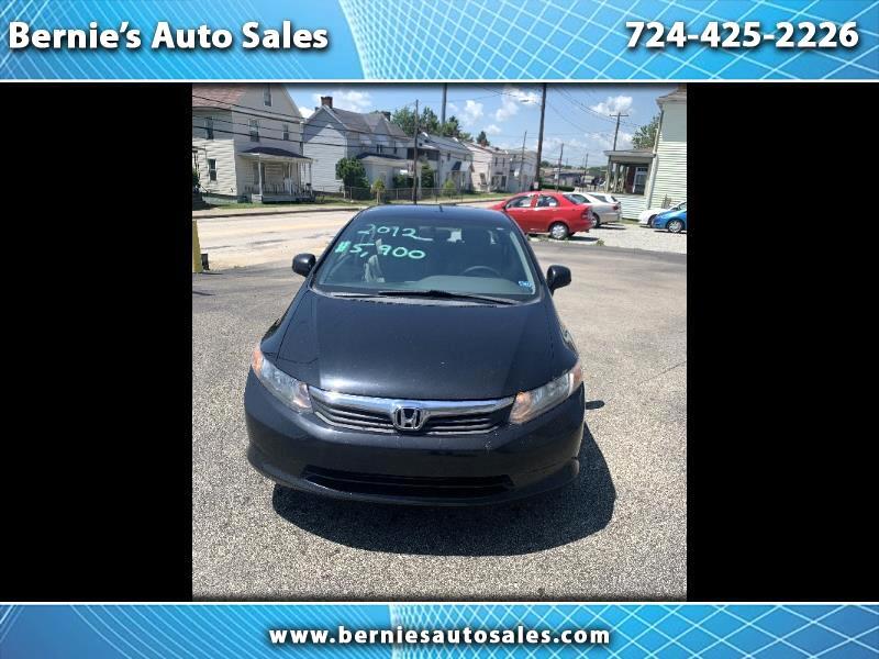 Honda Civic Sedan 4dr CVT EX 2012
