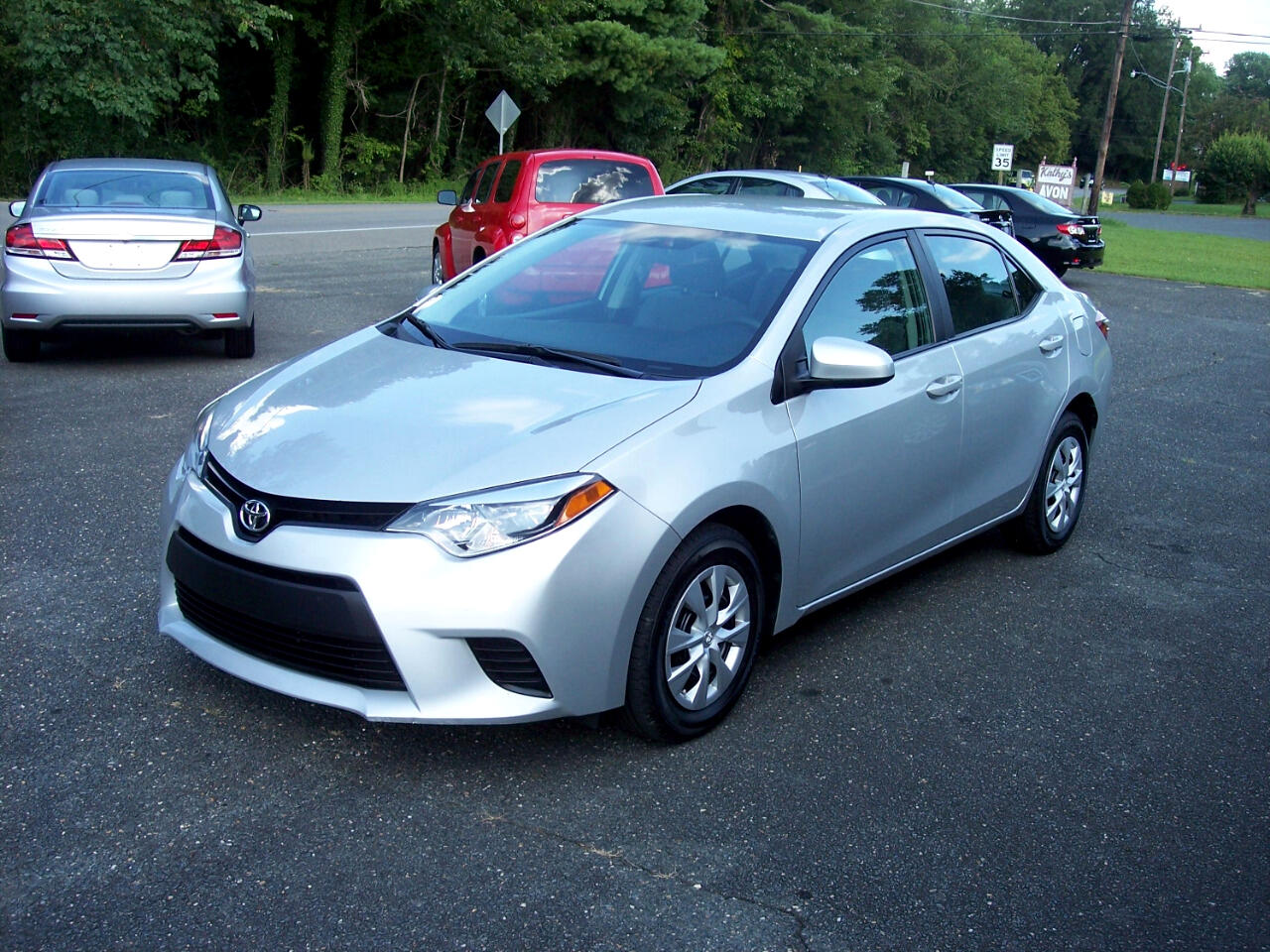 Toyota Corolla L 4-Speed AT 2016