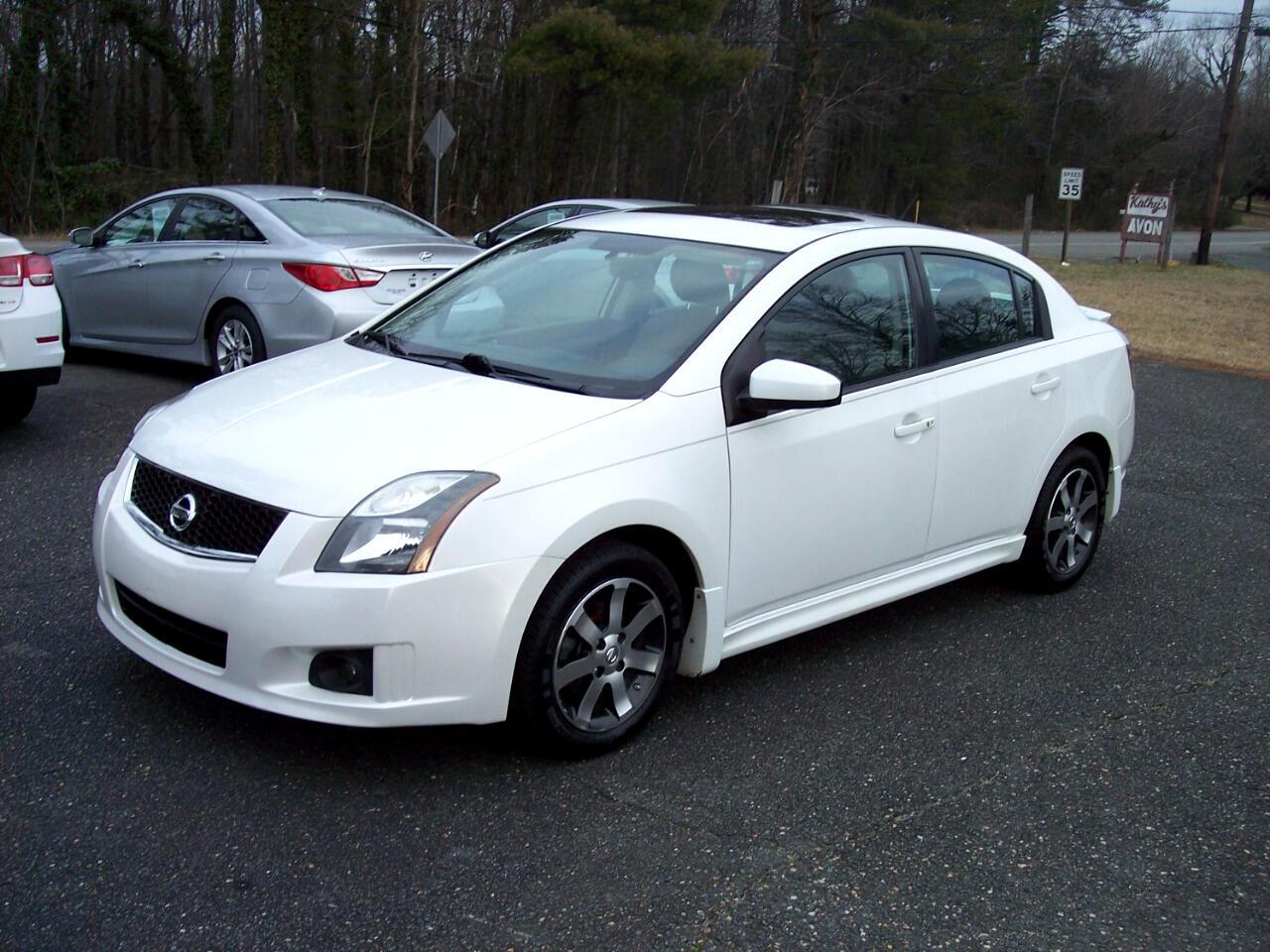 Nissan Sentra 2dr Sedan SE Auto 2012