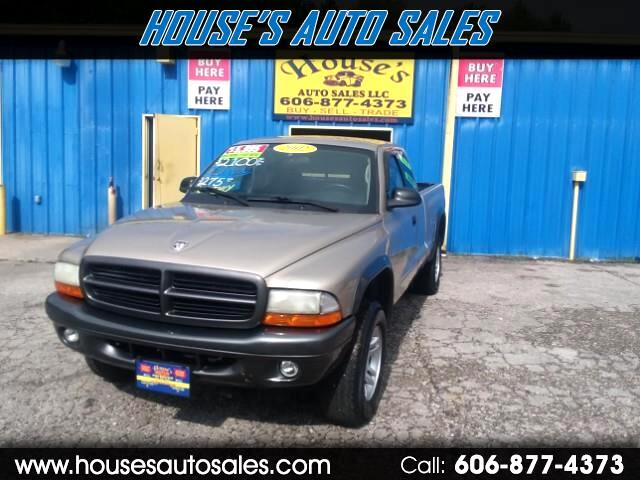 2002 Dodge Dakota Club Cab 4WD