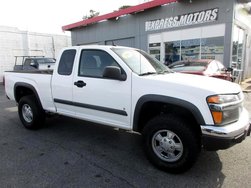 2008 Chevrolet Colorado Work Truck Ext. Cab 4WD