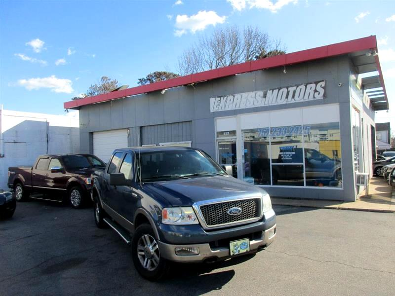 Ford F-150 Lariat SuperCrew 5.5-ft. Bed 4WD 2005