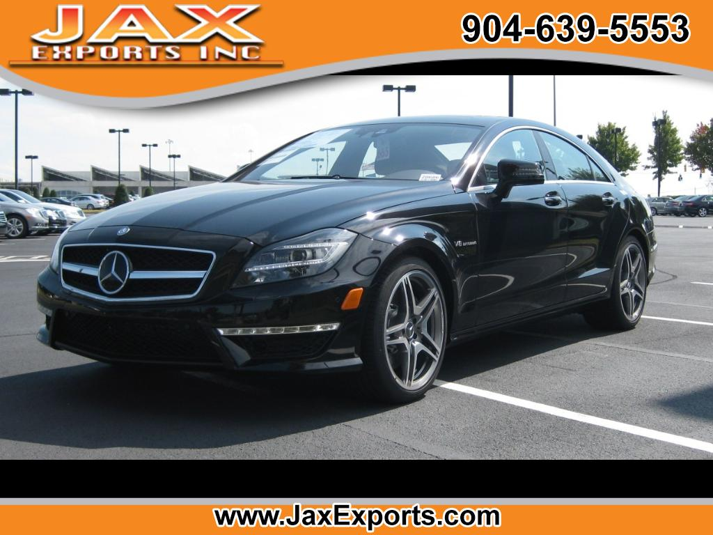 2012 Mercedes-Benz CLS-Class 4dr Sdn CLS 63 AMG RWD