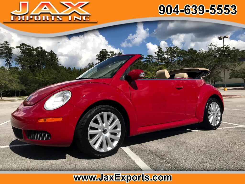 2008 Volkswagen New Beetle Convertible 2dr Auto SE PZEV