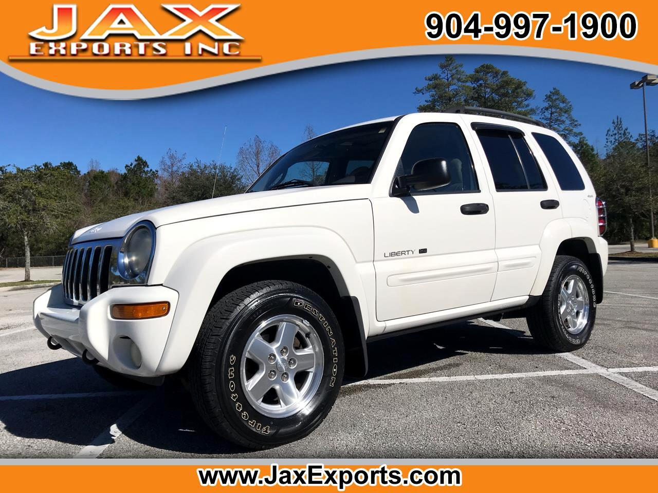 2002 Jeep Liberty 4dr Limited 4WD