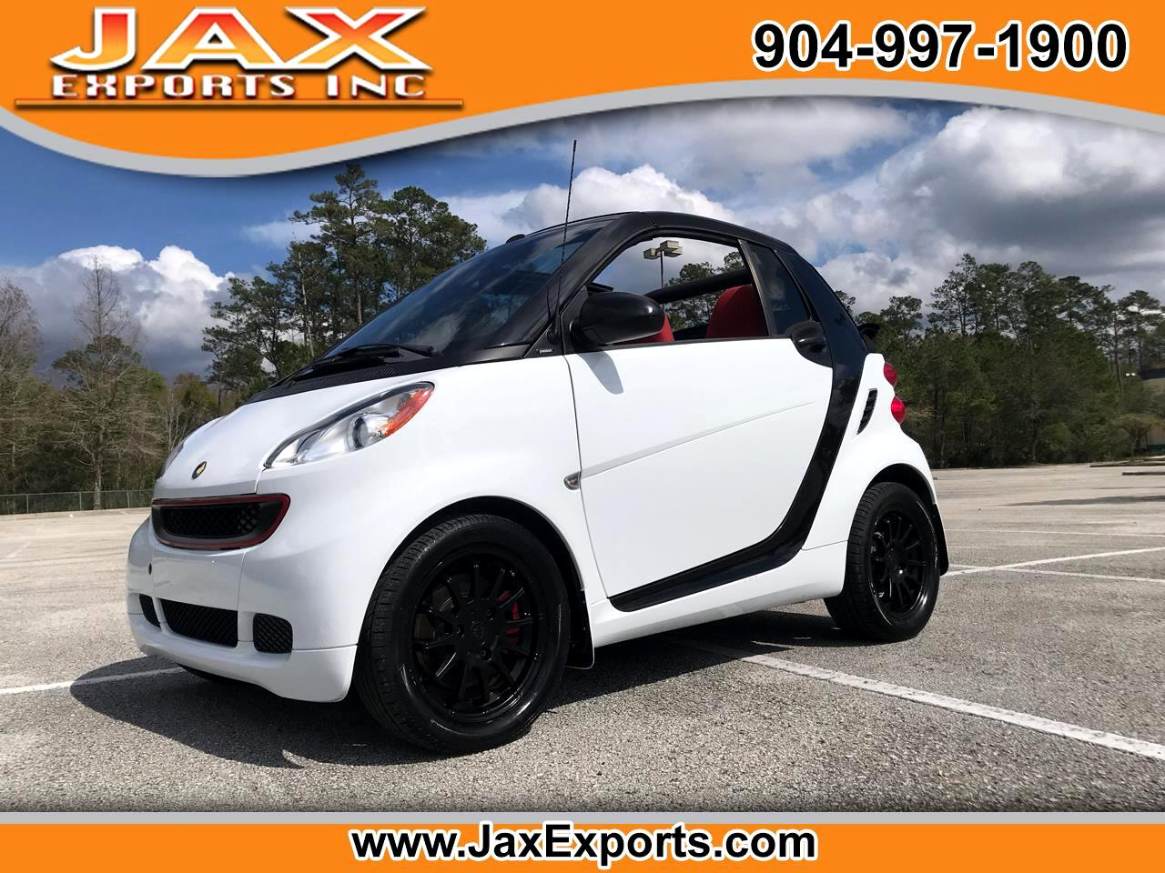 2011 smart Fortwo 2dr Cabriolet Passion