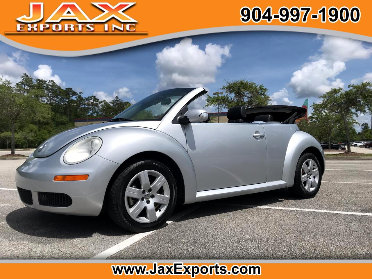 2007 Volkswagen New Beetle Convertible 2dr Manual