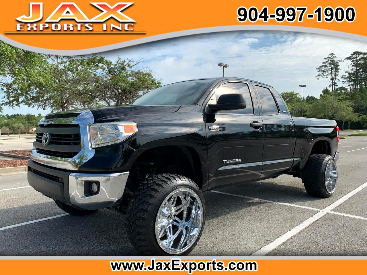 2014 Toyota Tundra 4WD Truck Double Cab 5.7L FFV V8 6-Spd AT SR5 (Natl)
